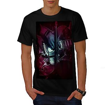 Bass Guitar Artist Men BlackT-shirt | Wellcoda