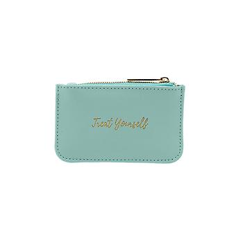 CGB Giftware Willow And Rose Treat Yourself Teal Purse
