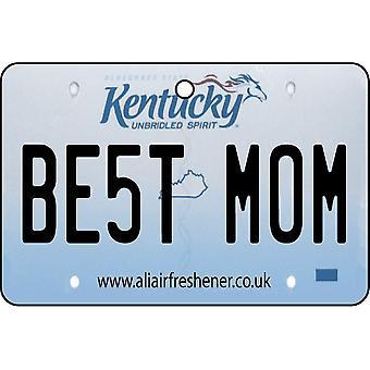 Kentucky - la mejor mamá placa ambientador