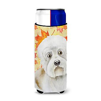 Dandie Dinmont Fall Michelob Ultra Hugger for slim cans
