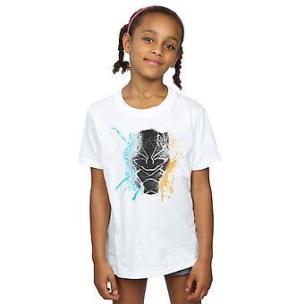 Marvel Girls Black Panther Splash T-Shirt