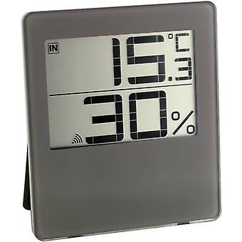 Wireless thermo-hygrometer TFA CHILLY Brown