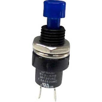 Pushbutton 250 V AC 1.5 A 1 x Off/(On) SCI R13-509