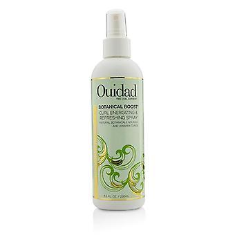 Ouidad botanische Boost Curl verkwikkende en verfrissende Spray (alle krullen typen) - 250ml/8,5 oz