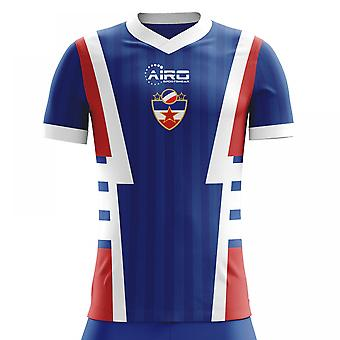 2018-2019 Yugoslavia Home Concept Football Shirt