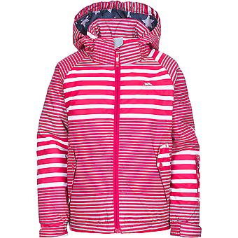 Trespass Girls Oakle Waterproof Breathable Windproof Ski Jacket Coat