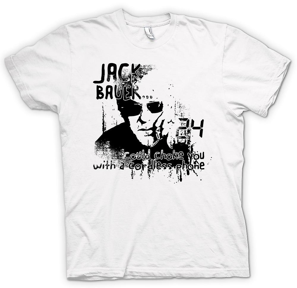 Womens T-shirt - Jack Bauer 24 Choke You - Funny