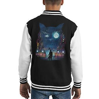 Blade Runner Replicant Owl Kid's Varsity Jacket