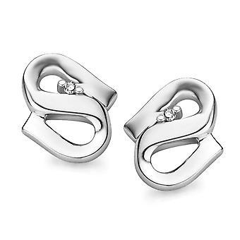 Orphelia Silver 925 Earring S Diamond   ZO-5005