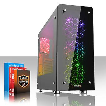 Fierce APACHE Gaming PC, Fast Intel Core i5 7400 3.5GHz, 1TB SSHD, 8GB RAM, GTX 1060 6GB
