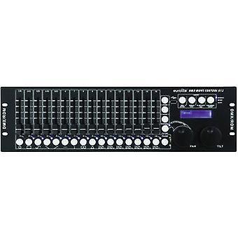 Montaje en rack EUROLITE DMX mueva Control DMX 512 controlador 32-canal 19