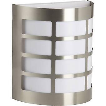 Brilliant Rune 96182/82 Outdoor wall light Energy-saving bulb, LED E27 60 W Stainless steel