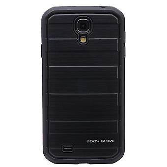 Body Glove Rise Case for Samsung Galaxy S4 - Black Brushed Metal