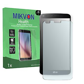 LG KS1301 G Flex Screen Protector - Mikvon Health (Retail Package with accessories) (intentionally smaller than the display due to its curved surface)