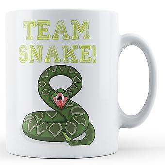 Team-Snake - bedruckte Becher