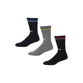 New Designer Mens Pepe Jeans Rib Socks Han