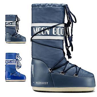 Unisex Erwachsene Tecnica Moon Boot Nylon wasserdicht Winter Knie hohe Stiefel