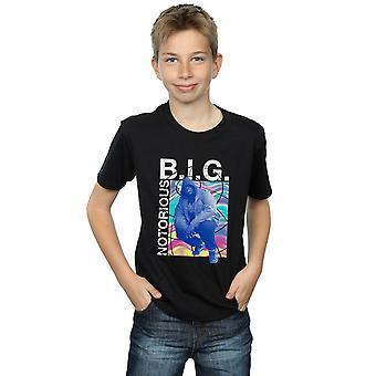 Beryktede store gutta holografisk bilde t-skjorte