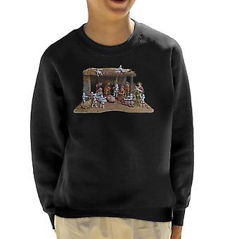 Original Stormtrooper Christmas Stormtivity Kid's Sweatshirt