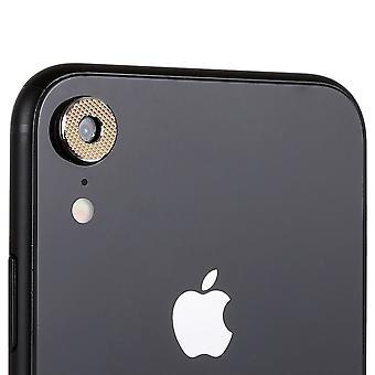 Anillo de protección de protección Cam cámara para Apple iPhone XR 6.1 pulgadas 2Pcs oro alta calidad
