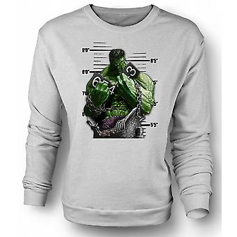 Mens Sweatshirt The Hulk - Cartoon - Chains