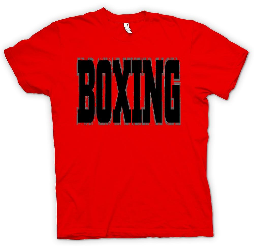 Mens T-shirt - Boxing - Martial Art - Slogan
