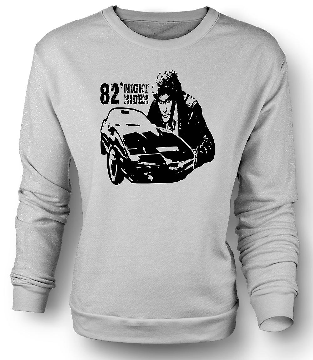 Mens Sweatshirt Knight Rider 82 - Trans Am - Retro