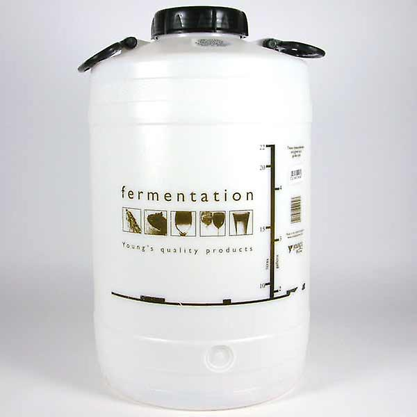 25 Liter / 5 Gallonen Screw Top Plastic Fermenter