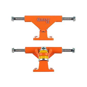 Penny Orange série Solid - paire de 4 pouces de camions Cruiser
