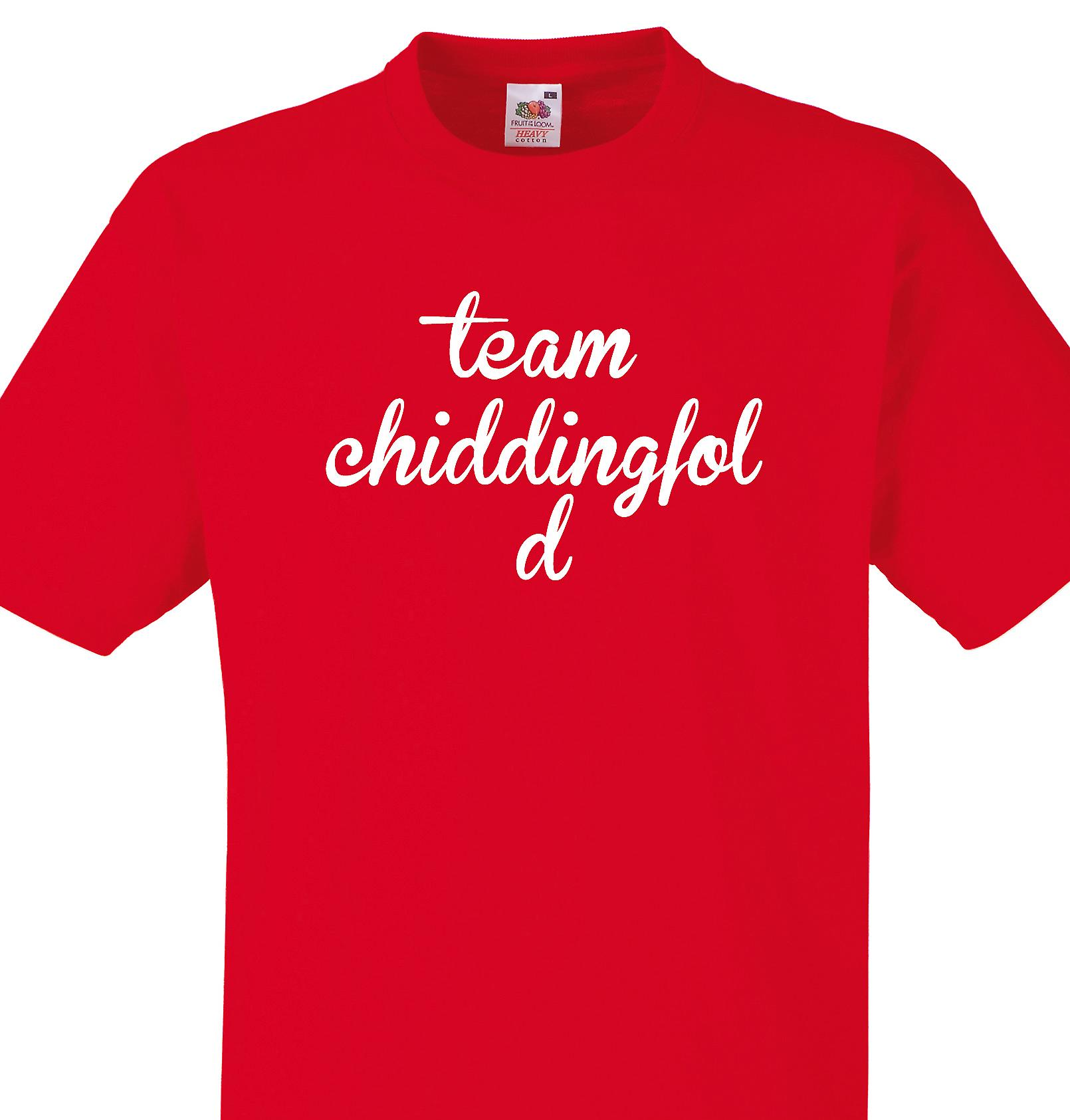 Team Chiddingfold Red T shirt