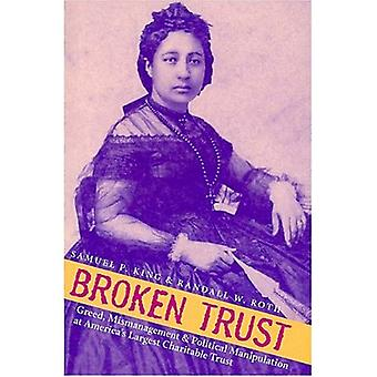 Broken Trust: Greed, Mismanagement, and Political Manipulation at America's Largest Charitable Trust (Latitude 20 Book)