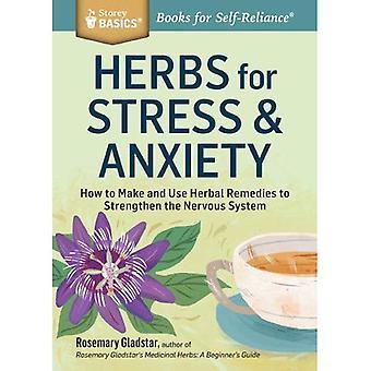 Herbs for Stress & Anxiety (Storey Basics)