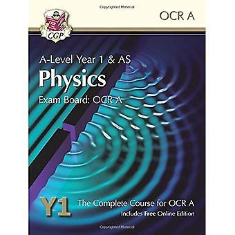 Nueva física de un nivel para OCR A: año 1 y como libro del alumno con la edición en línea