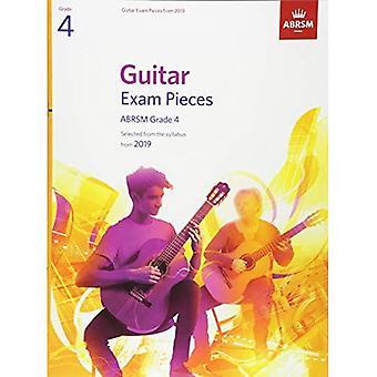 Gitarr-examen bitar från 2019, ABRSM grad 4
