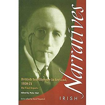 British Intelligence in Ireland: The Final Reports (Irish narratives)