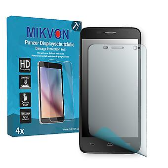 Alcatel One Touch Idol Mini 6012X Screen Protector - Mikvon Armor Screen Protector (Retail Package with accessories)