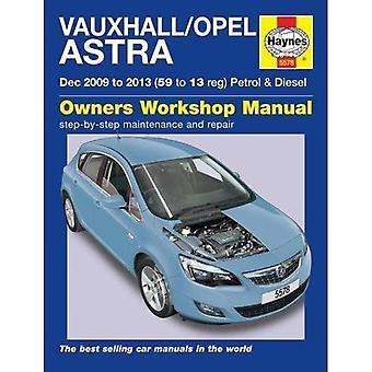 Vauxhall/Opel Astra: (Dec 09 - 13) 59 to 13 John Mead