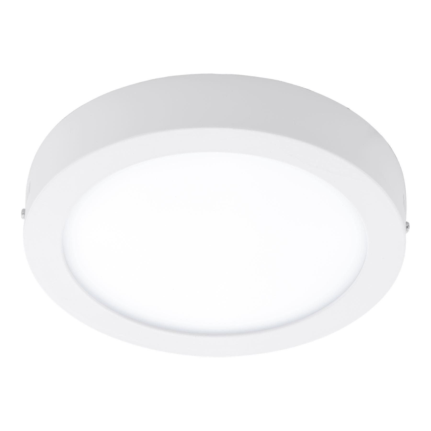 Eglo - Fueva-C Connect Controlled Tuneable blanc & RGB Surface Mounted Panel lumière blanc EG96671