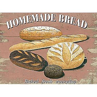 Homemade Bread large metal sign  (og 4030)