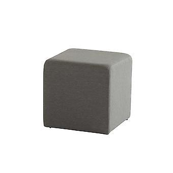 Taste 4SO Crea poef upholstery 43x43xH43 cm - antraciet