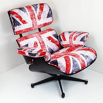 Charles Eames Chair - BLACK WOOD - Union Jack