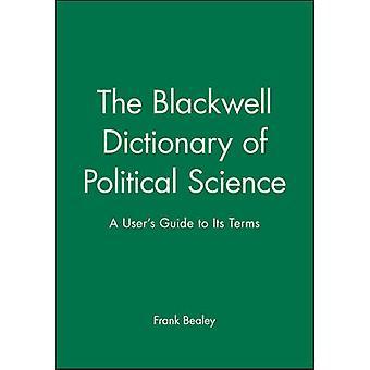 Blackwell Science de politique Dictionary par BEALEY
