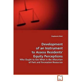 Desarrollo de un instrumento para evaluar las percepciones de capital de residentes por oeste y Stephanie