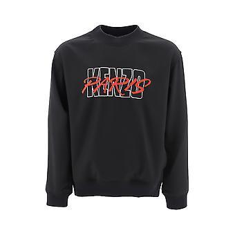 Kenzo Black Polyester Sweatshirt