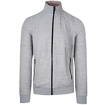 Boss BOSS Grey Zaldo Funnel Neck Zip Top