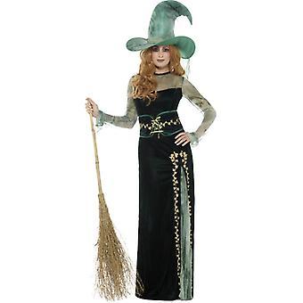 Disfraz de bruja Esmeralda Deluxe