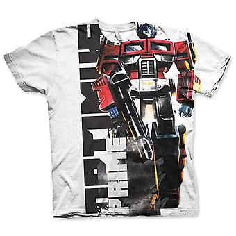Men's Optimus Prime All Over Printed T-Shirt