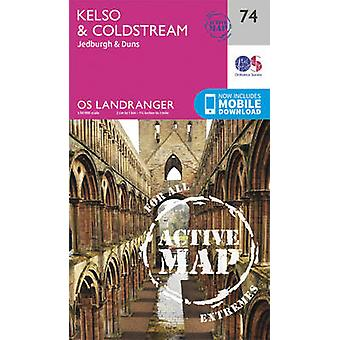 Kelso & Coldstream - Jedburgh & Duns (February 2016 ed) by Ordnance S