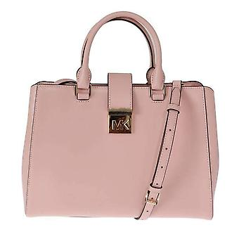 Pink MINDY Satchel Crossbody Bag -- MK50608944