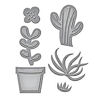 Spellbinders Die D-Lites Succulent Garden (S2-218)